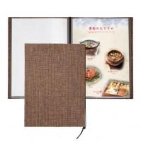 和洋菜單本-編織紋綁繩款(A4-4P)