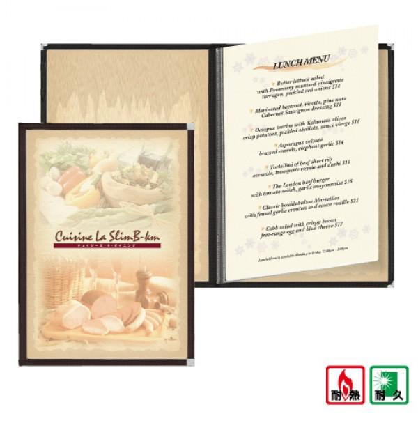 SUPER耐熱菜單本(A4-6P)
